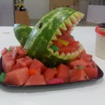 Hai aus Wassermelone