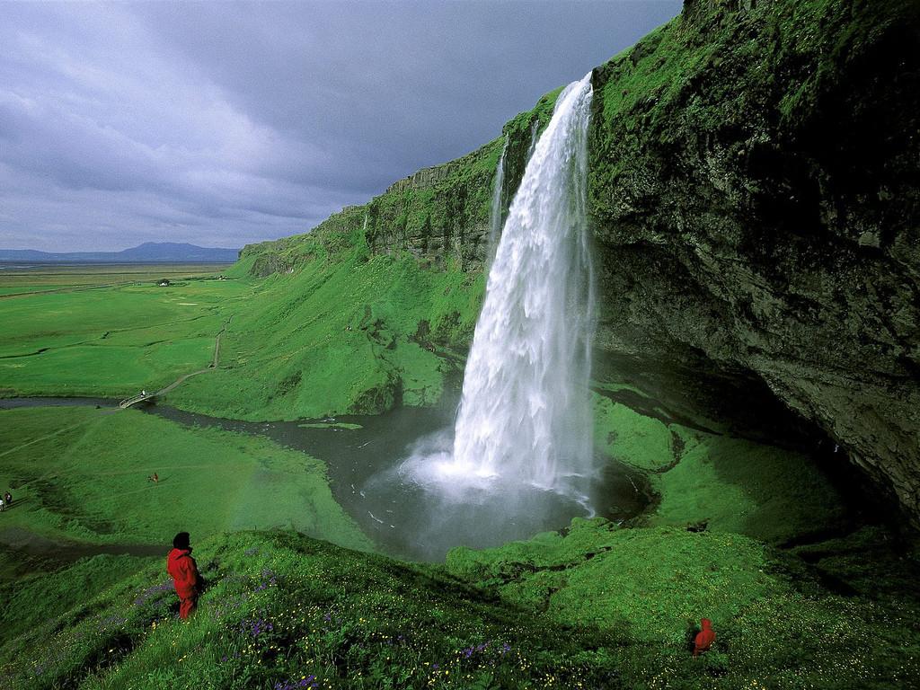 Seljalandsfoss Fälle, Island