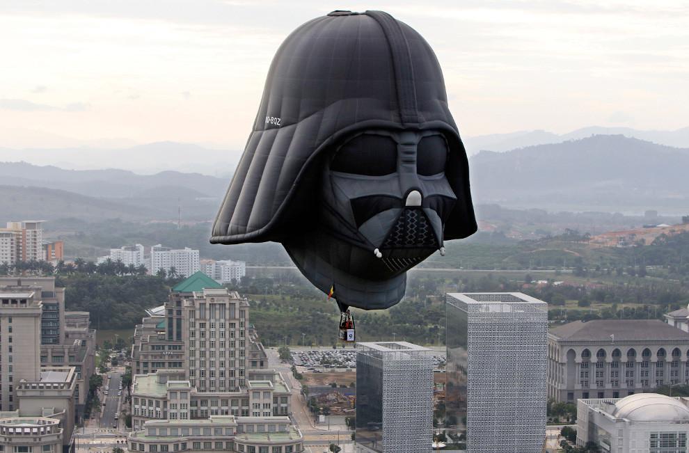 Darth Vader Heissluftballon