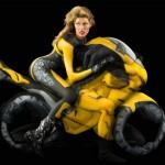 Human Motorcycle Body Art