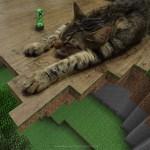 Katze in Minecraft