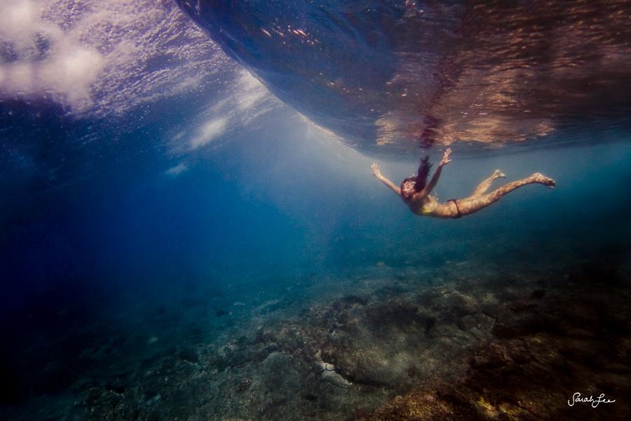 Unter den Wellen