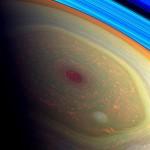 Wirbelsturm auf dem Saturn