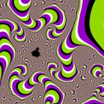 Psychedelisches Muster