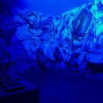 RGB Bild Blau