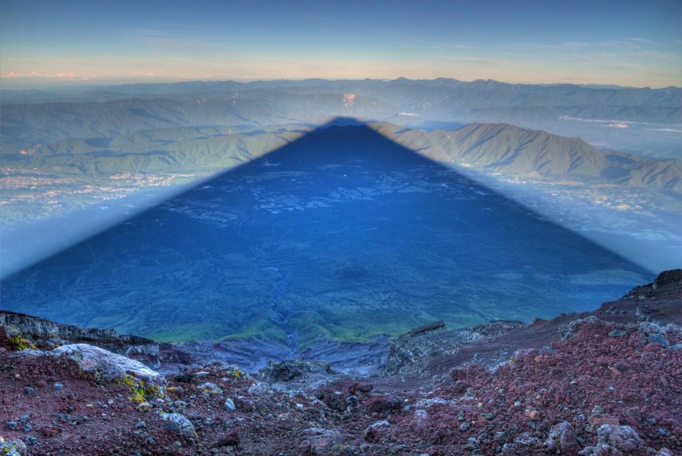 Der Schatten des Fuji
