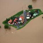 Hochwasser an der Mulde