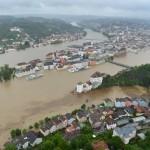 Hochwasser an Inn, Donau und Ilz (Passau)