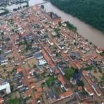 Hochwasser an der Mulde (Grimma)
