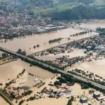 Hochwasser an der Donau (Fischerdorf)