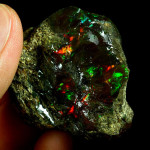 Äthiopischer Schwarzer Opal