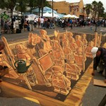 lego streetart